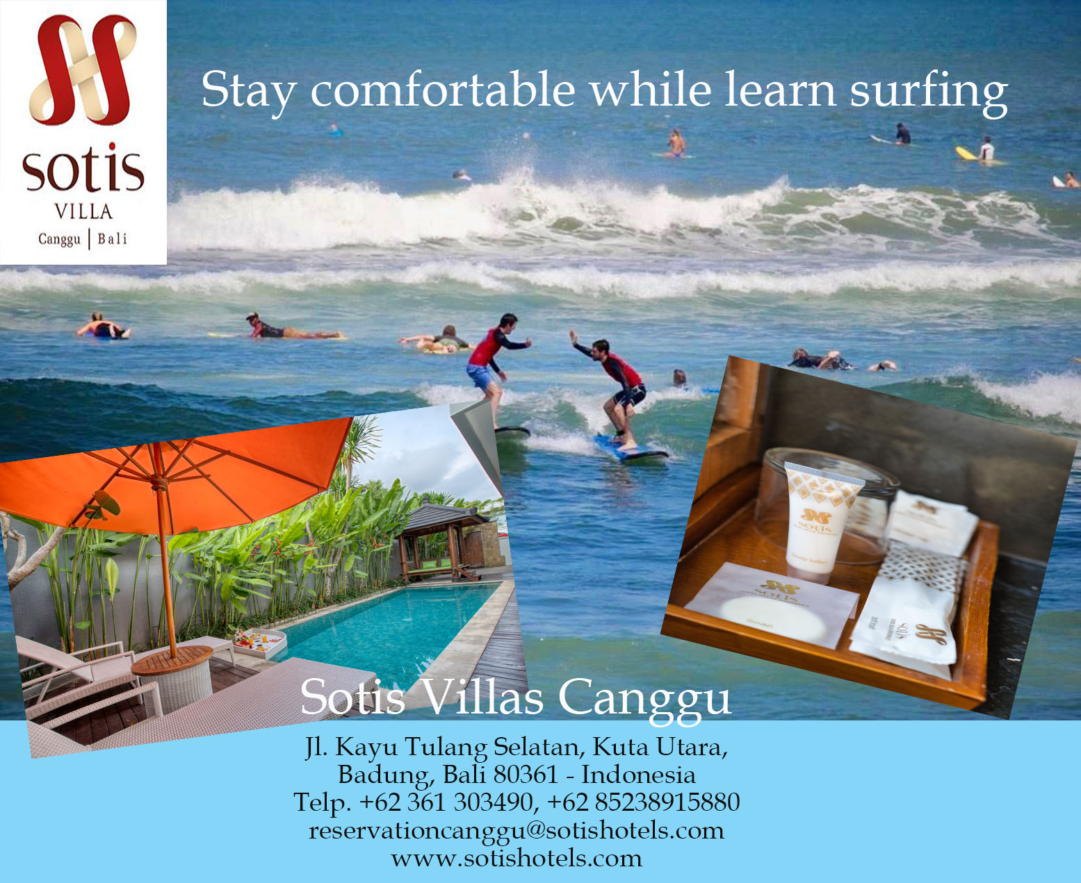 Comfortable Stay Surfing