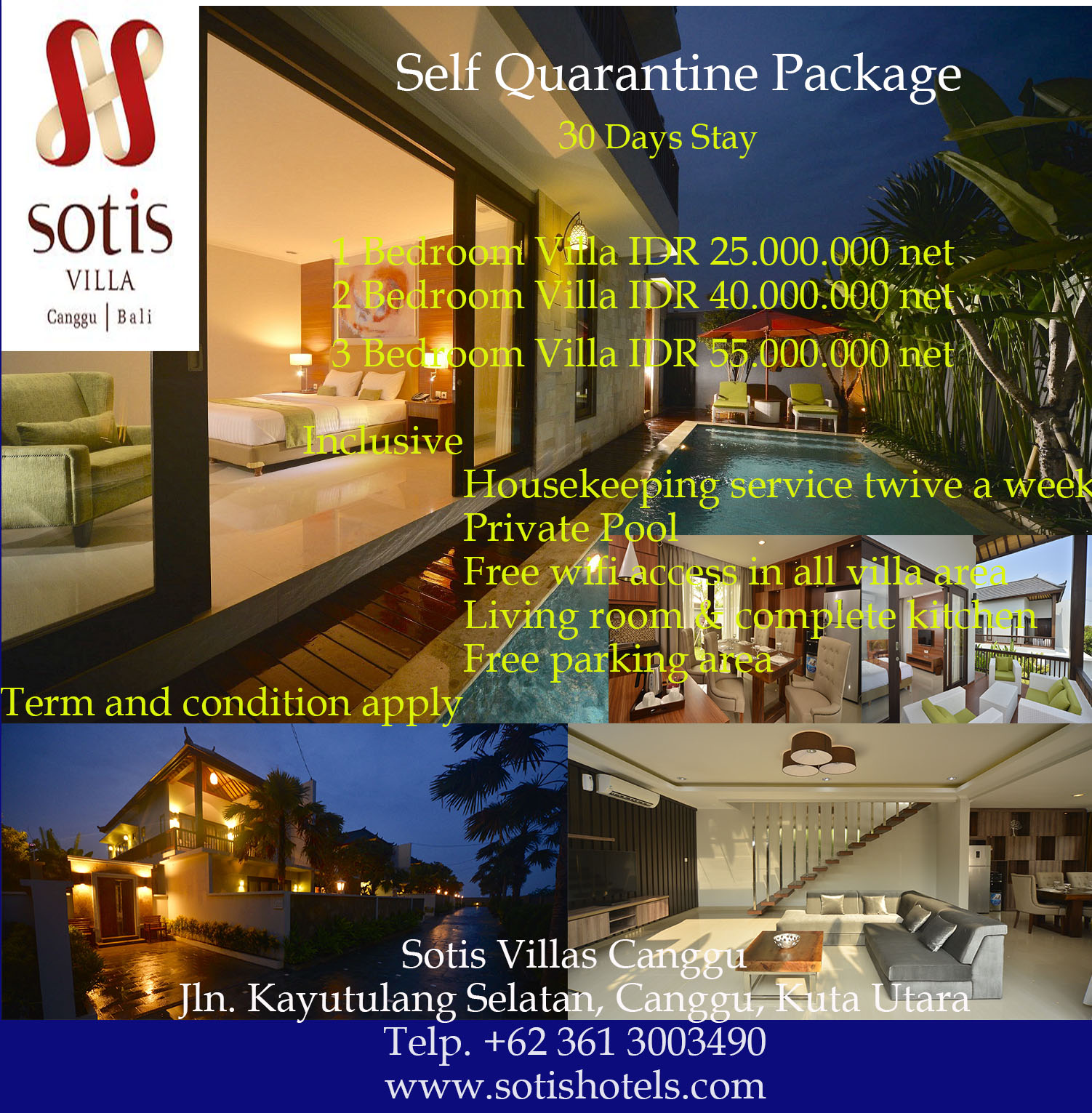 Self Quarantine Package