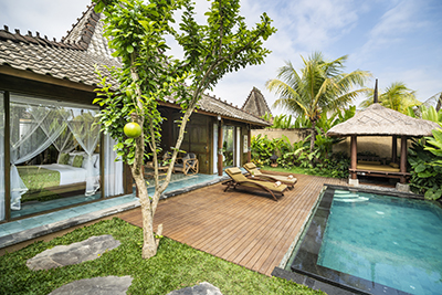 Residential Two-Bedroom Villa with Private Pool and free Benefit - Breakfast